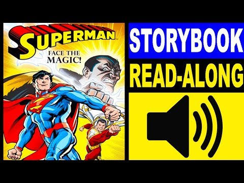 Superman Read Along Storybook, Read Aloud Story Books, Books Stories, Superman - Face the Magic!