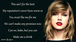 Full Lyrics Taylor Swift - Delicate official song