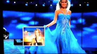 Miss Universe Top 10 Evening Gown