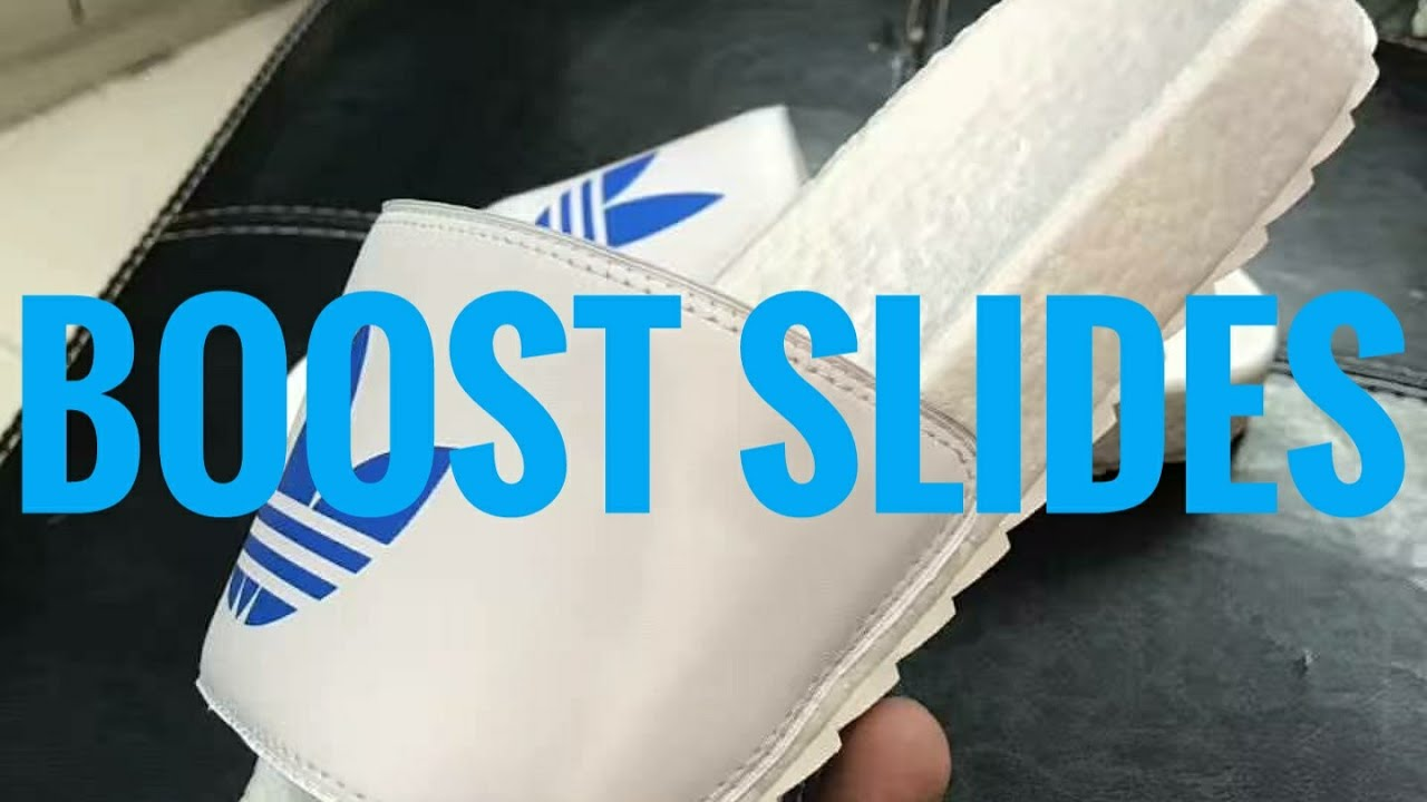 adidas boost slides release