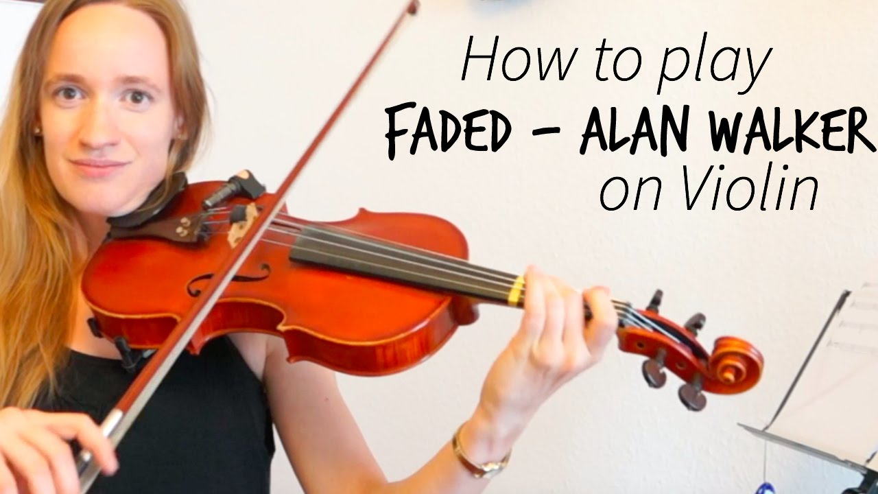 Faded - Alan Walker (how to play)   Easy violin tutorial ...