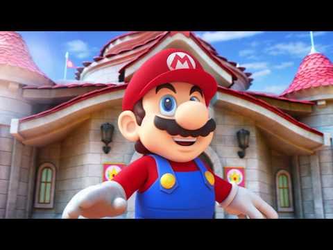 Super Nintendo World theme park trailer is pure joy