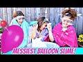 Giant Balloon Slime Challenge!