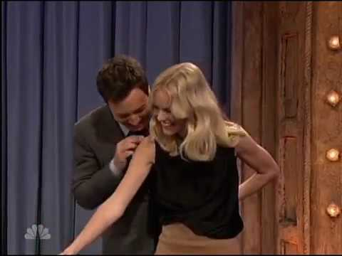 Beer Pong with Kate Bosworth and Jimmy Fallon 2017