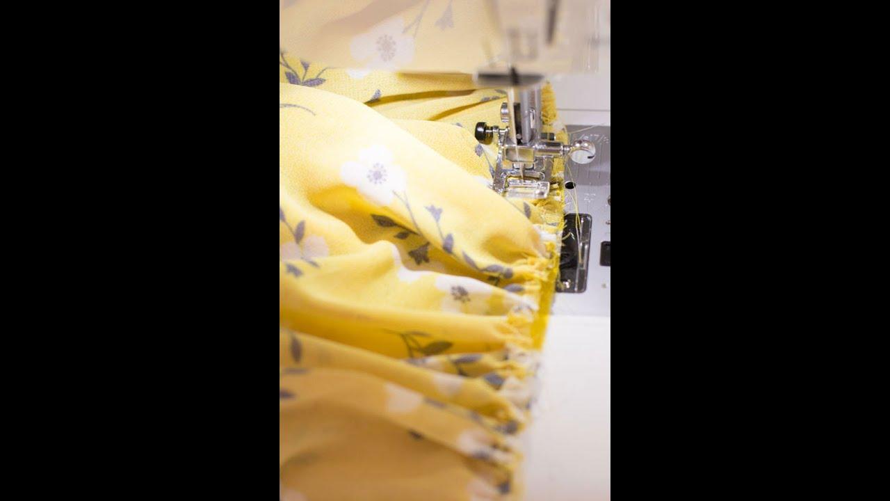 TIP: Cómo fruncir con la máquina de coser