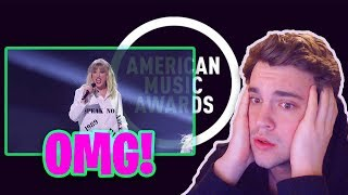 Taylor Swift -2019 AMA'S *SHE REALLY DID THAT!* (REACTION)