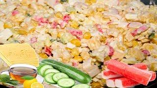 Салат из крабовых палочек – Вкусно и Просто!
