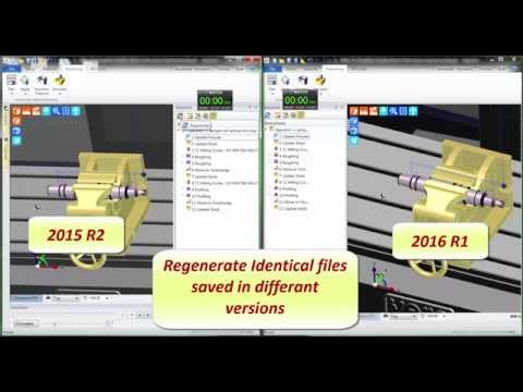 Edgecam 2016R1 | Simulator update stock improvements