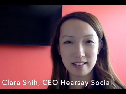Clara Shih: The Social Business Imperative - YouTube