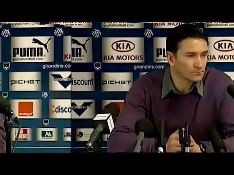 Conférence de presse après Bordeaux-Valenciennes.