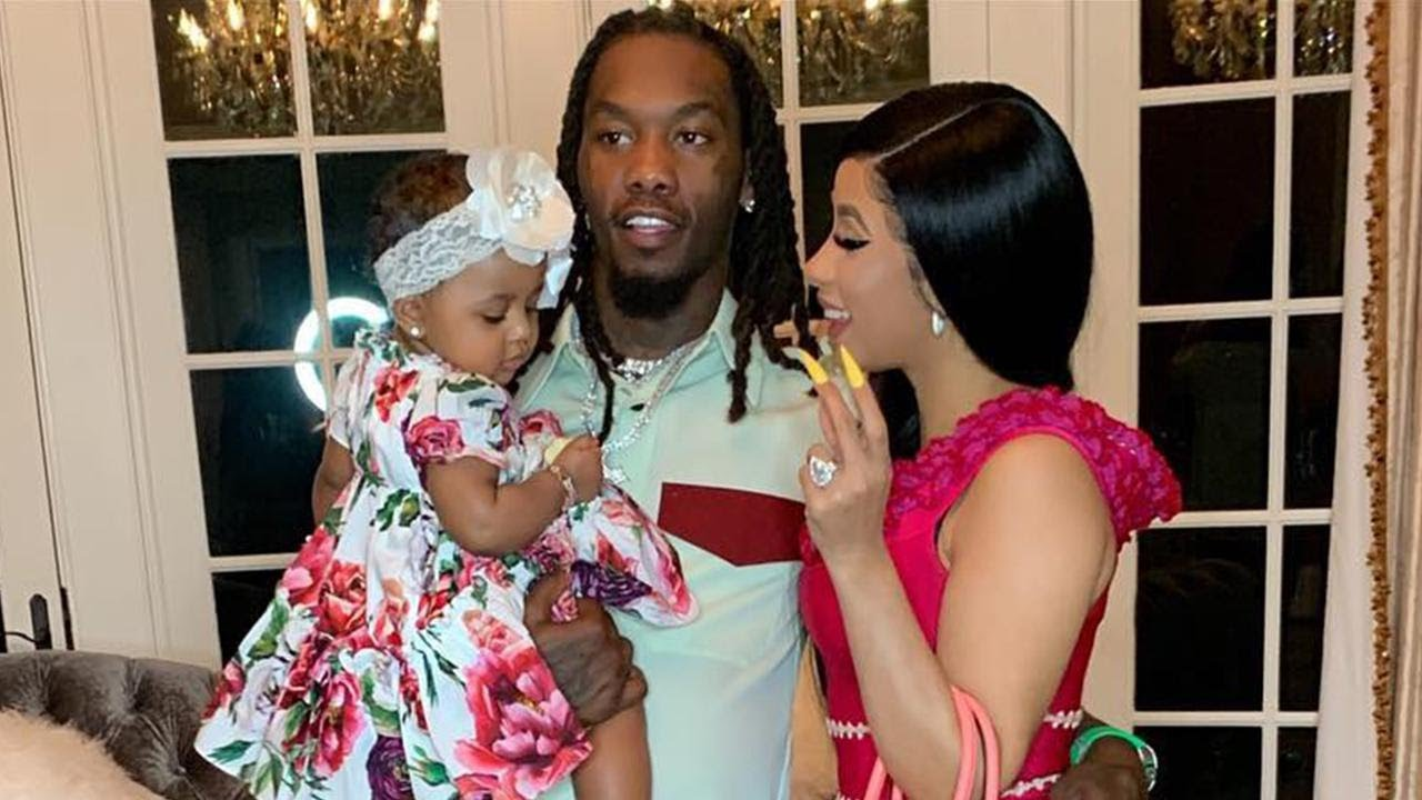 Cardi B And Offset S Daughter Turns 1 See Cardi S Sweetest Mama
