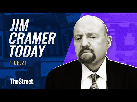 Bitcoin, Roku, Capitol Hill: Jim Cramer's Stock Market Breakdown 1/8
