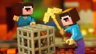 Портал в АД и Лего Нубик Майнкрафт и Ниндзяго Мультики Все Серии Подряд Мультфильмы Игрушки