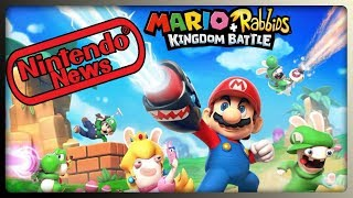 Mario + Rabbids Kingdom Battle Artwork, Monster Hunter XX für Switch & Nintendo Aktie explodiert