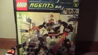 lego Agents 2 0 Robo Attack