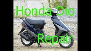 Ремонт Honda Dio 27|Не заводится со стартера| Часть - 2