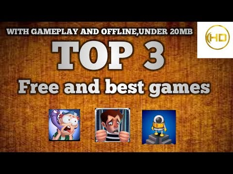 Top 3 best Android games