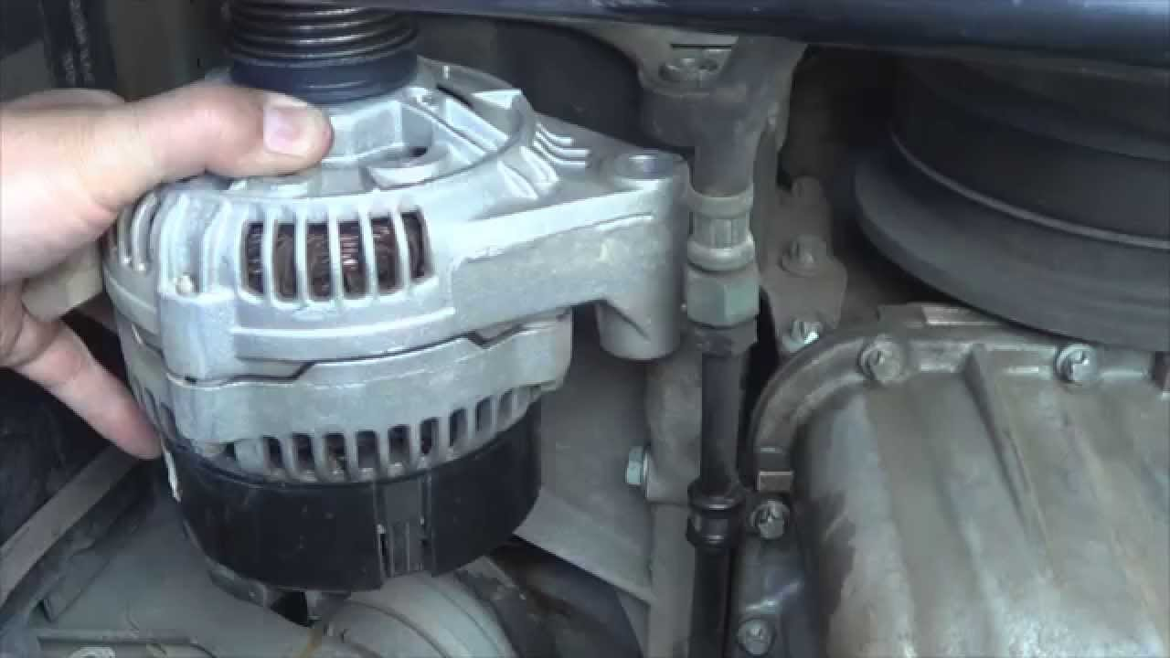 mercedes benz c230 kompressor alternator replacement guide [ 1280 x 720 Pixel ]