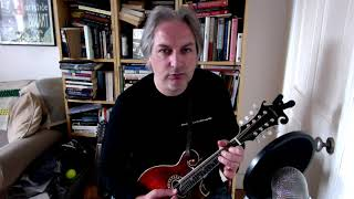 The Hills Of Coore (hornpipe) on mandolin