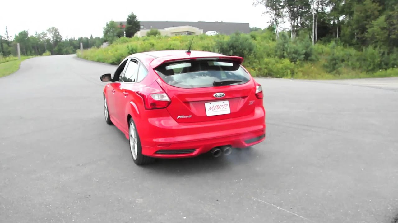 2013 Ford Focus ST with MBRP Exhaust