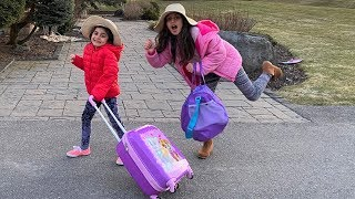 Deema and Sally going on a Trip