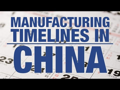 What To Know About China Manufacturing Timelines for Product Sourcing