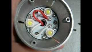 TinyDeal - E27 3W White Light Bulb with 3 LED AC 110~220V HLB-5376
