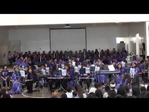 Kapalama Elementary School Band Ode To Joy Krazy Klock