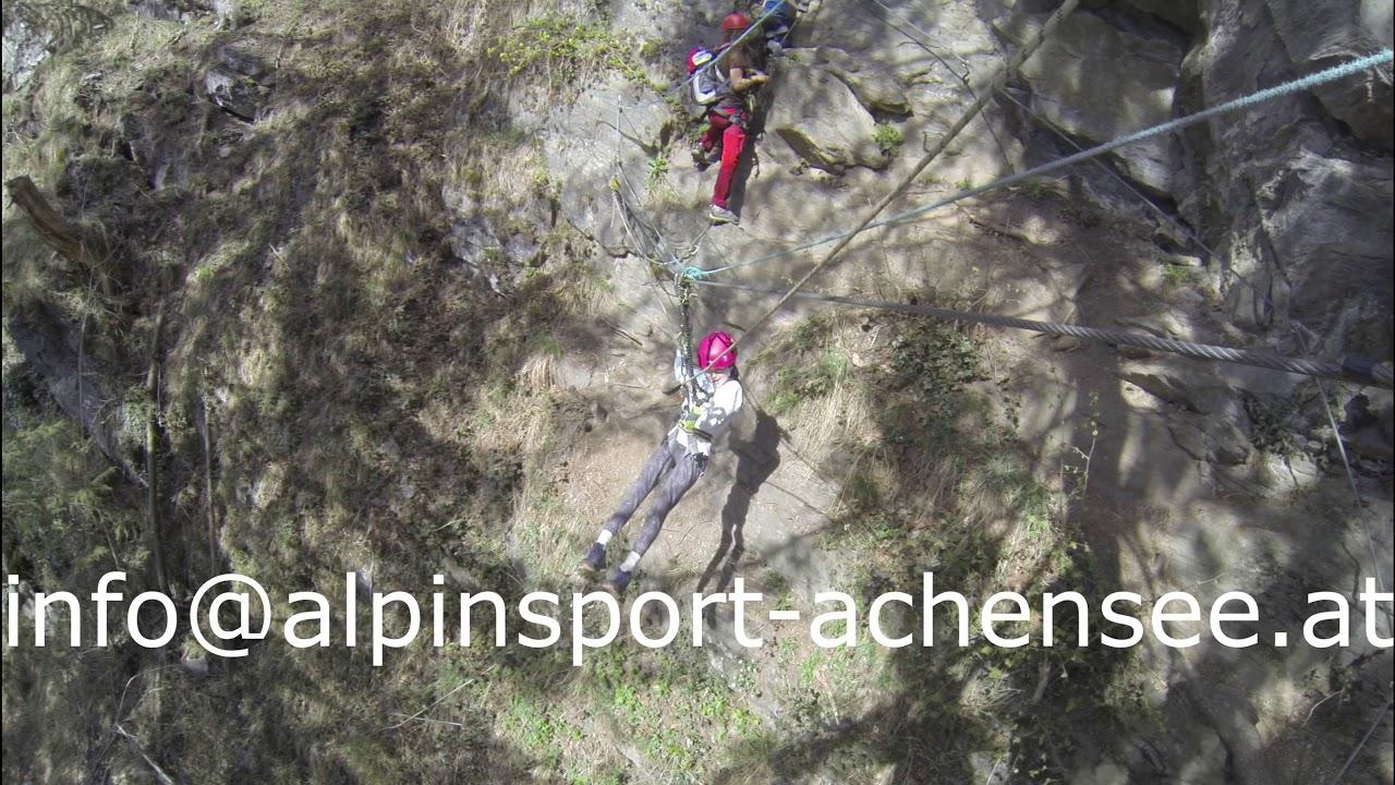 Klettersteig Achensee : Klettersteigcamps achensee