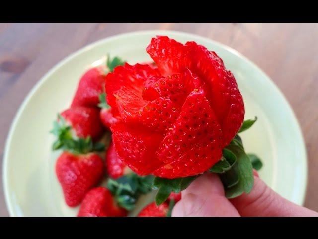 ???????   ??????   ????   ?????????   ????????   ????   ?????????? Strawberry Rose Garnish