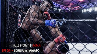 LUTA COMPLETA MMA | SFT 24  Sousa vs. Amato