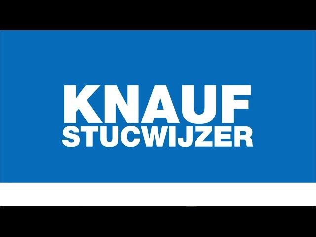 De Knauf Stucwijzer en KnaufZeker certificaat.