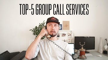 Top 5 Free Apps for Conference Calls 📹   Video Chat Services for Remote Employees