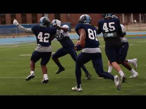 Maine Football - First Spring Scrimmage of 2018