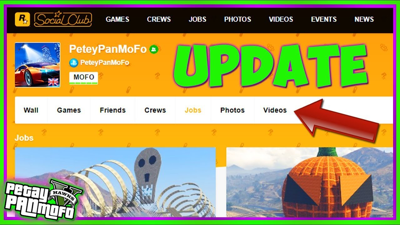 GTA Online Social Club Update - How to Find Custom Jobs n Playlists