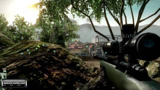 Battlefield: Bad Company 2 Multiplayer Gameplay #2 (PC HD)