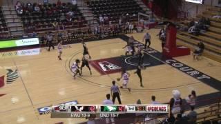 Highlights of Eastern Women's Basketball against North Dakota ( Feb. 9).