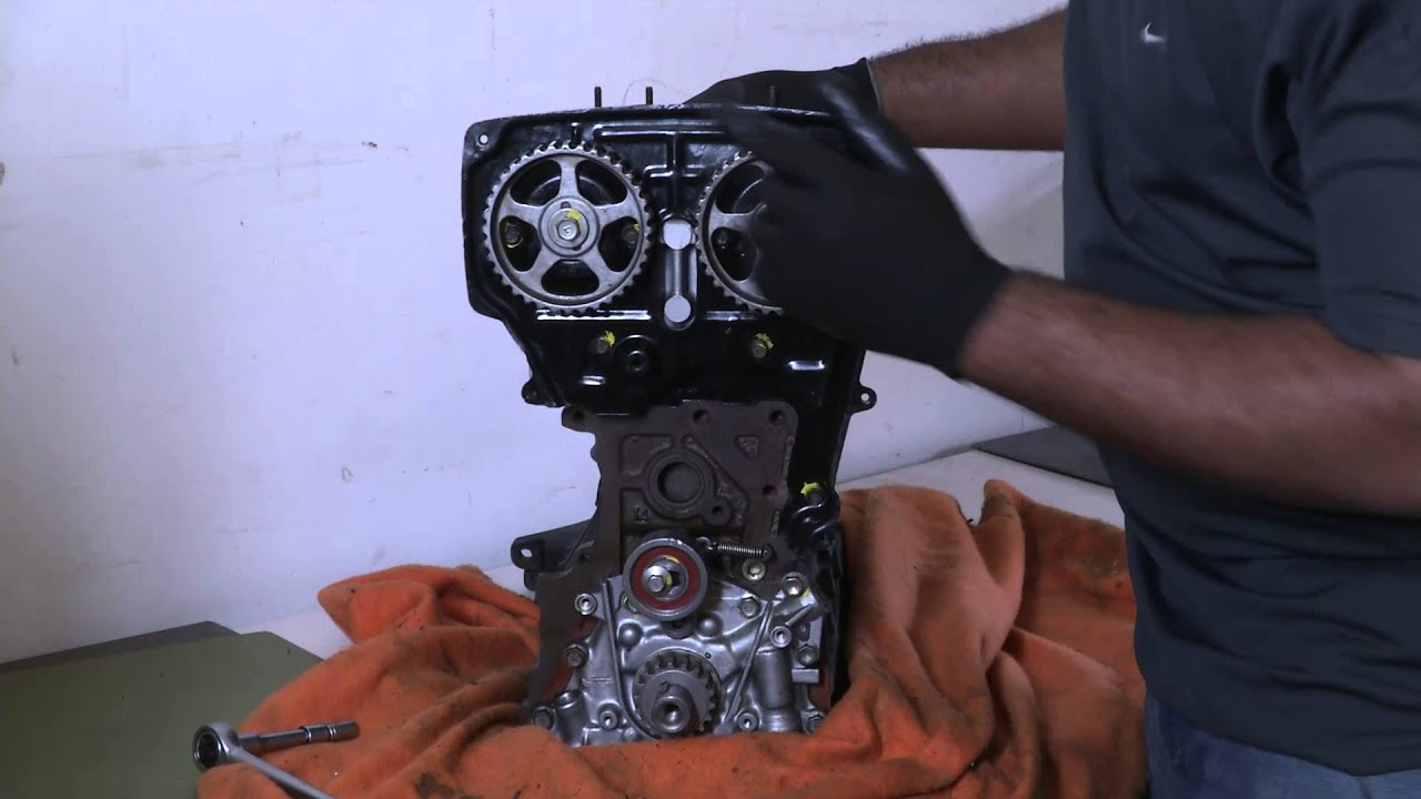 How to Align the Camshaft if My Timing Belt Broke : Timing