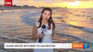 Clear Water Getting Closer To Galveston Again