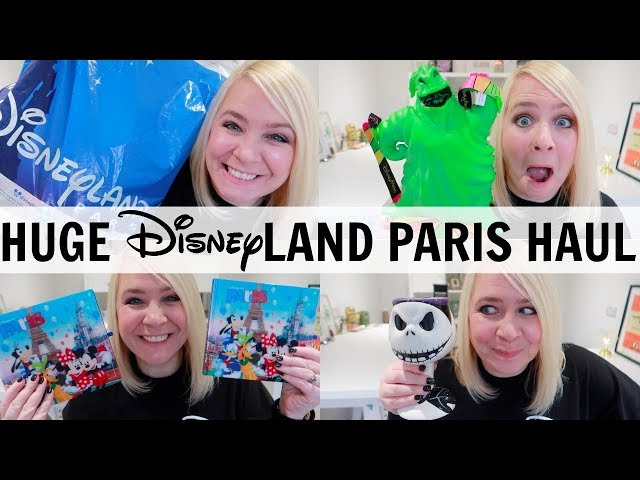 HUGE DISNEYLAND PARIS HAUL 2018!