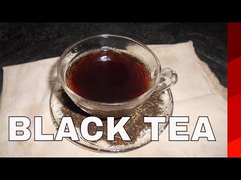 HOW TO MAKE SIMPLE  BLACK TEA 2017