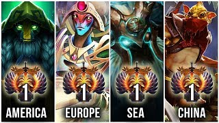 TOP-1 RANK on NEW 7.23 Patch - BEST Support of all Regions - America, Europe, SEA, China