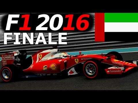 F1 2016 Saison Mod Sebastian Vettel Lets Play FINALE – Abu Dhabi GP German Gameplay [Fanatec CSW]