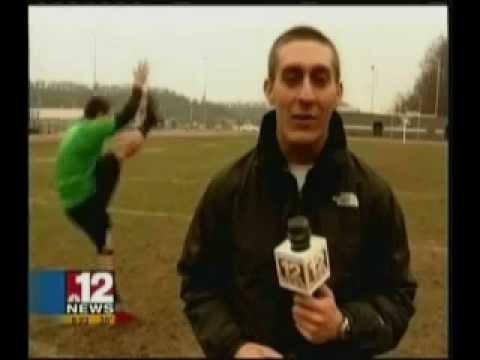 RCB kicker/punter Scott Levine interview with WBOY