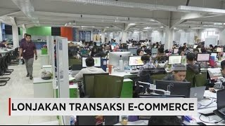 Lonjakan Transaksi E-Commerce