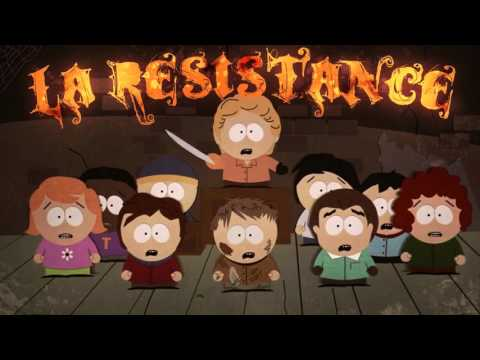 "South Park - ""La Resistance"" with real(ish) voices"