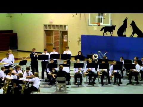 West Valley Middle School Jazz Band 2012 song 3