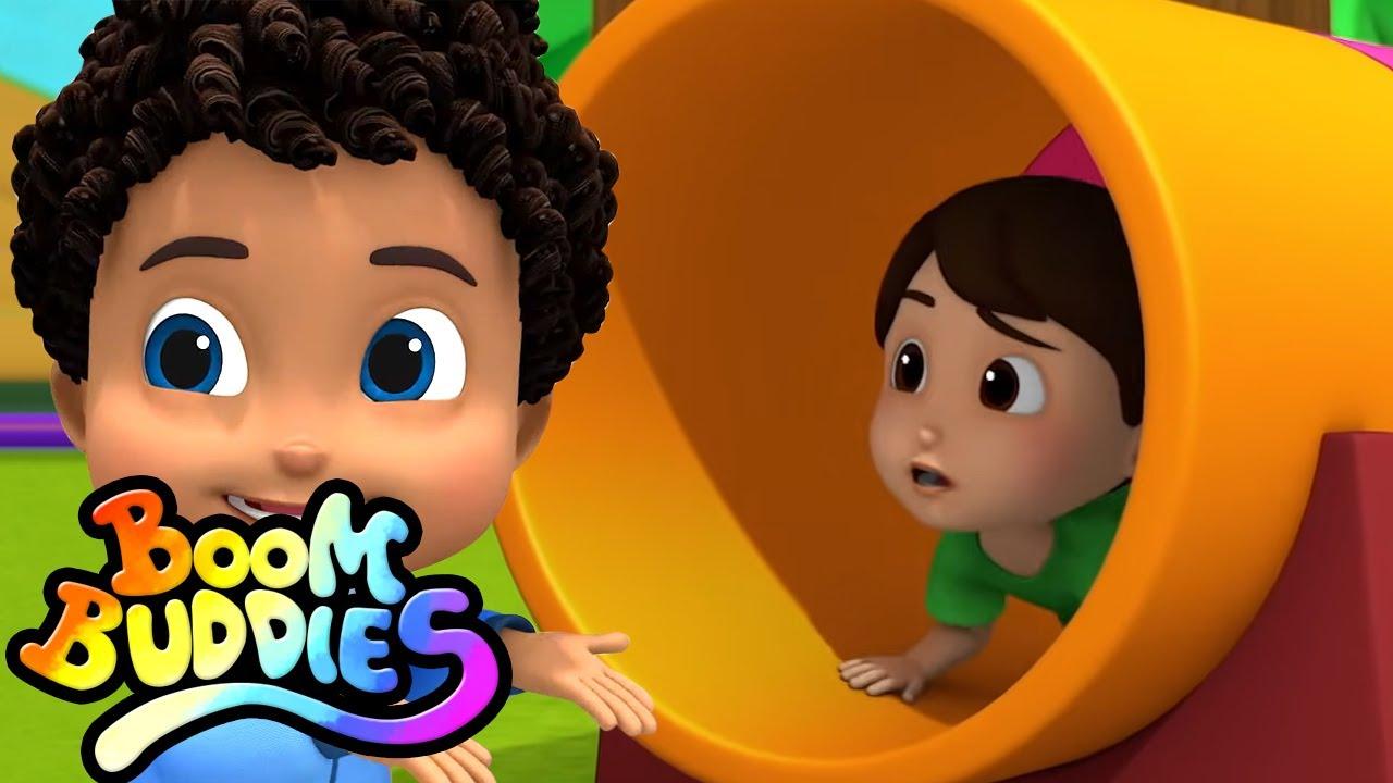 Canción de boo boo | Rimas para niños | Boom Buddies Español | Educación | Videos preescolares