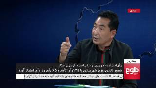 NIMA ROZ: Dismissal Of Ministers By Wolesi Jirga Discussed