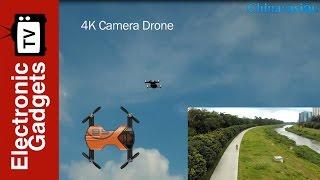wingsland s6 premium foldable 4k mini drone wi fi fpv 4 flight modes 360 degree
